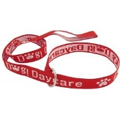 Personalized 4'  Embroidered Leash w/ D-ring