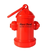 Fire Hydrant Bag Dispenser - 1 Color Imprint